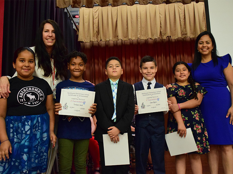 Northwest Third Graders Reach a Milestone Moment