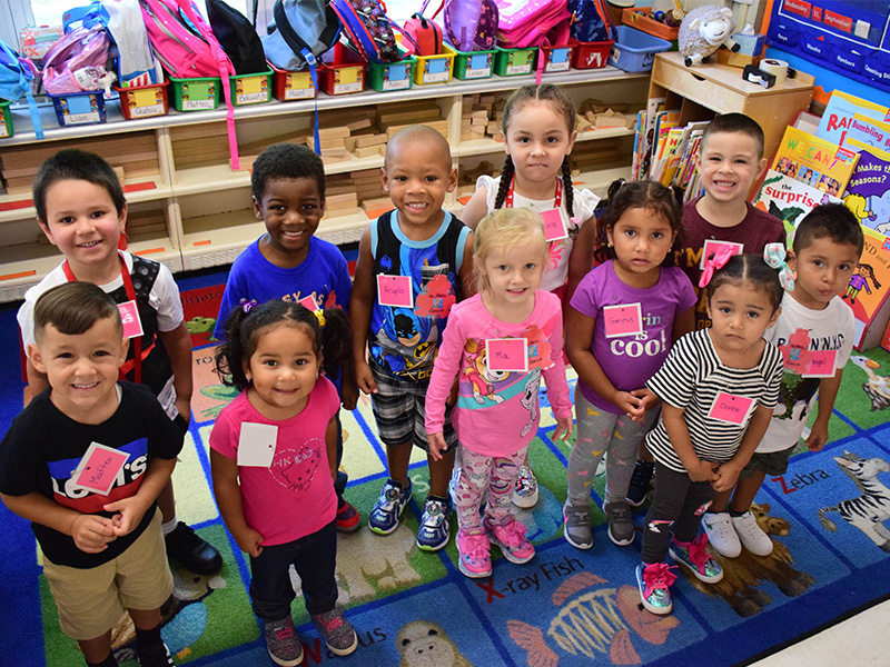 Warm Welcome for Pre-K Students at Northeast