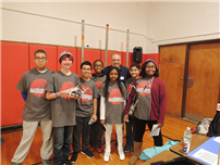 Robotics Competition a First for Middle School Team photo