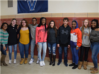 High School Students Make Cross-County Connections photo