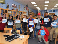 High School Students Crack the Code to Knowledge photo